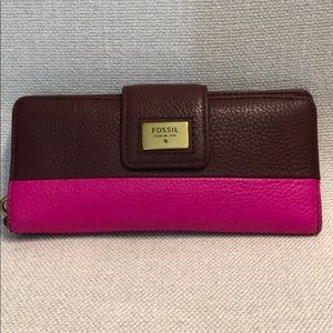 Fossil Wallet (like new)